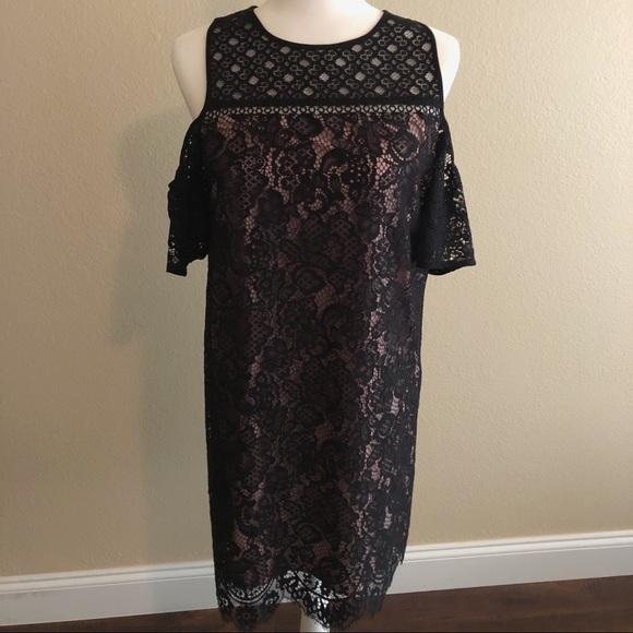 LOFT Dresses & Skirts - Loft Cold Shoulder Dress